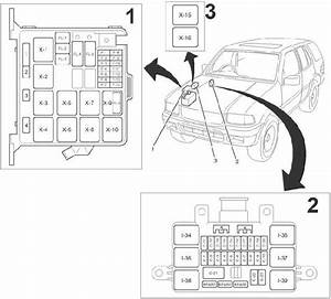 1998  Vauxhall Frontera B Fuse Box Diagram  U00bb Fuse Diagram