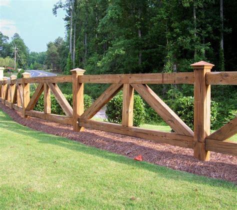 custom wood ranch rail fencing  mossy oak fence company