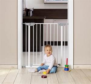 Barriere De Securite Escalier Sans Vis : barri re s curit enfant et b b par pression sans trou ni vis ~ Premium-room.com Idées de Décoration