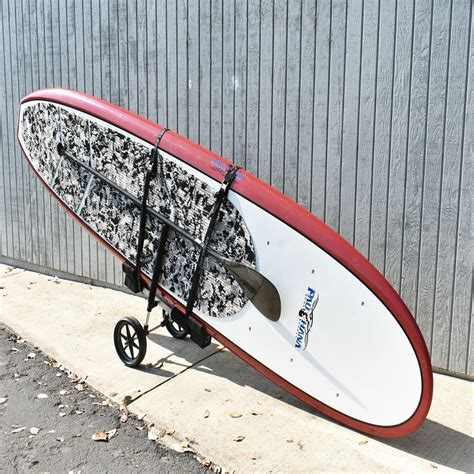 wheeleez paddle cart board stand single accessories supc wz1 wheels carts beach paddleboard