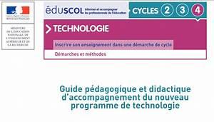 aix marseille textes officiels technologie au college With documents d accompagnement nouveaux programmes