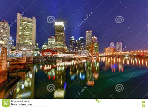 Boston Harbor Stock Image Image Of England District
