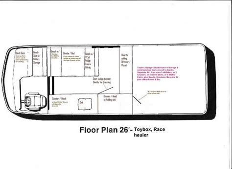 Gmc Motorhome Royale Floor Plans by Gmc Motorhome Floor Plans