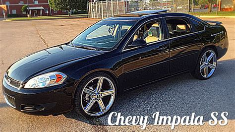 2008 Chevy Impala Ss On 22's Irocs Walk Around