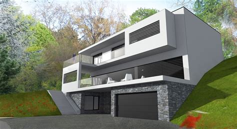 architecte maison moderne contemporaine maison individuelle contemporaine architecte ocube maisons d architecte en rh 244 ne alpes