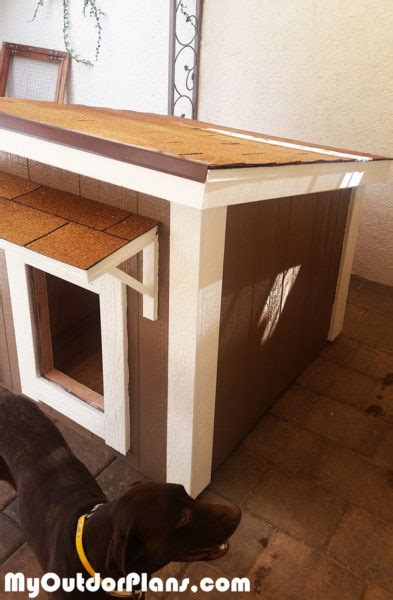 diy large insulated dog house myoutdoorplans  woodworking plans  projects diy shed
