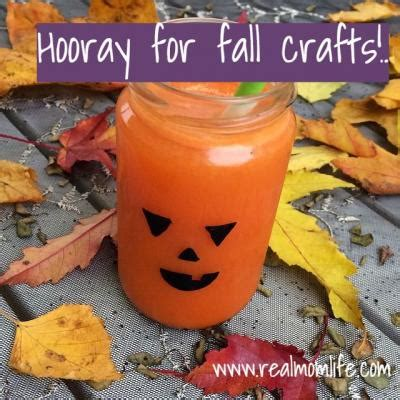 fall crafts and family fun real mom life