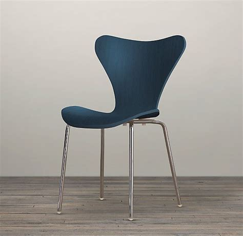 magnus stained chair in indigo furniture