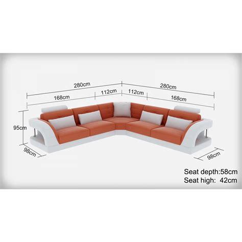 grand canapé d angle cuir grand canapé d 39 angle en cuir enzo pop design fr