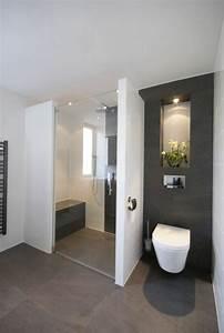 la salle de bain avec douche italienne 53 photos With implantation salle de bain