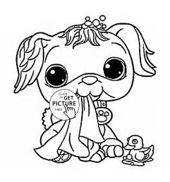 HD wallpapers coloring pages of littlest pet shop animals