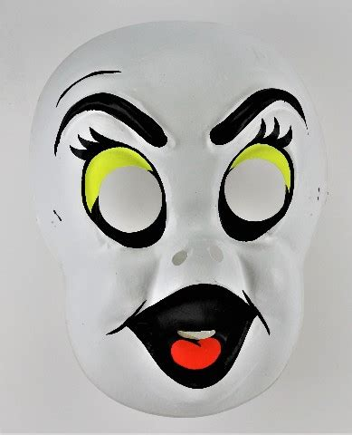 Walmart.com has been visited by 1m+ users in the past month Vintage Ghost Collegeville Halloween Mask Ben Cooper Toppstone Y275