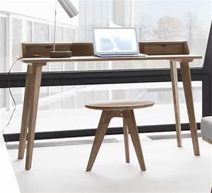 Sekretär Nussbaum Modern : sekret r in skandinavischem design aus massivem nussbaum ~ Michelbontemps.com Haus und Dekorationen