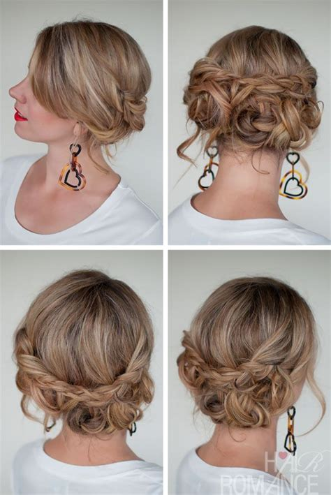quick easy updos long hair hair style and color for woman