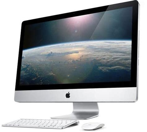 ordinateur apple de bureau apple imac ordinateur de bureau 27 quot intel i5 1 to 4096 mo