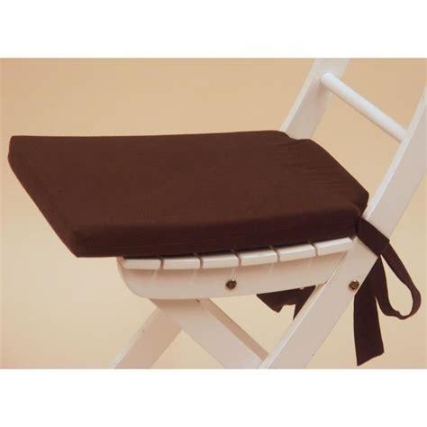 galette de chaise galette de chaise 15 java marron achat vente coussin