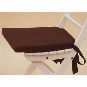 Galette De Chaise : galette de chaise 15 java marron achat vente coussin ~ Melissatoandfro.com Idées de Décoration