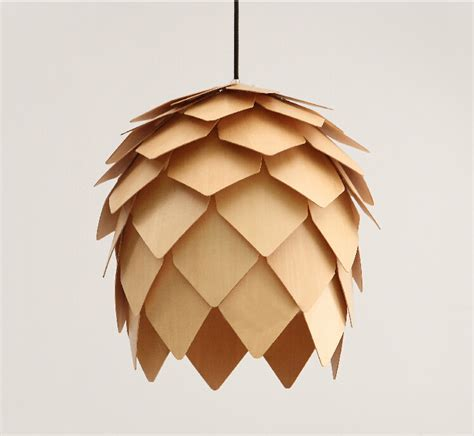 wholesale new modern novelty creative pine cone pendant