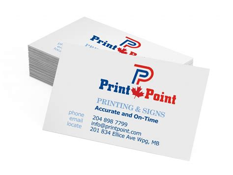 Business Cards  Print Point Canada