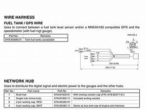 F100 Yamaha Fuel Management Gauge Wiring Diagram