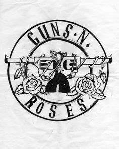 Black and white pattern iPhone 5 Wallpapers #gunsnroses ...