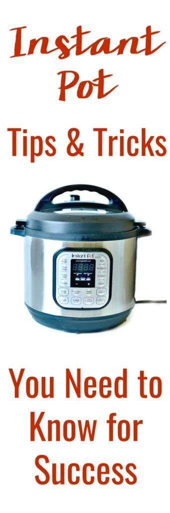 Instant Pot Tips  9 Essential Tips And Tricks For Beginners