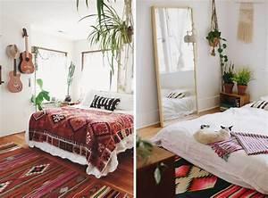 Idees Deco Chambre : 9 chambres la d co boh me joli place ~ Melissatoandfro.com Idées de Décoration