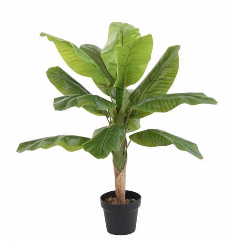 arbre artificiel fruitier bananier 12 feuilles int 233 rieur h 100 cm vert