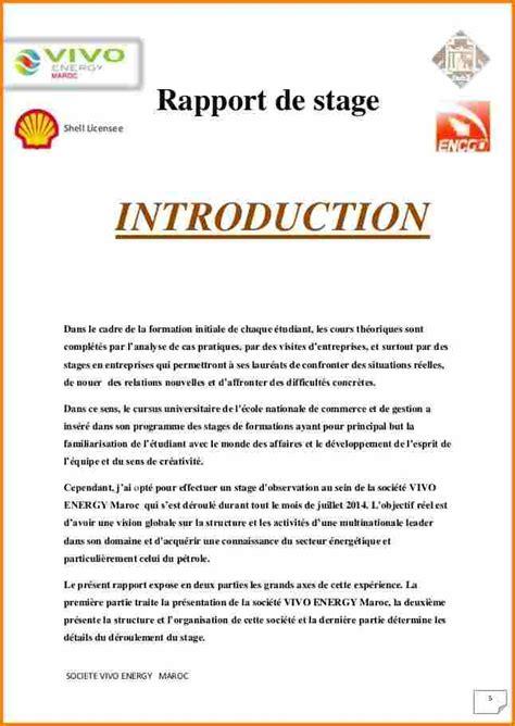 rapport de stage 3eme cuisine 10 rapport de stage introduction lettre de preavis