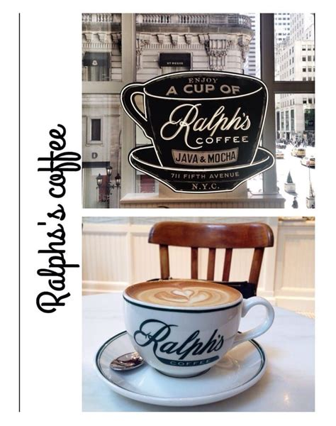 From iconic polo shirts to classic tennis skirts, this premium label also has several other. Ralph's Coffee - New York, NY, Tucked away on the second floor of the Ralph Lauren store on ...