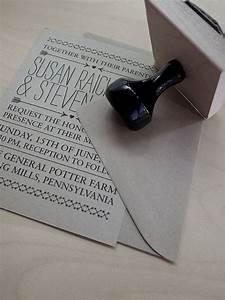 stamp diy wedding invitation much cheaper than getting With how much are diy wedding invitations