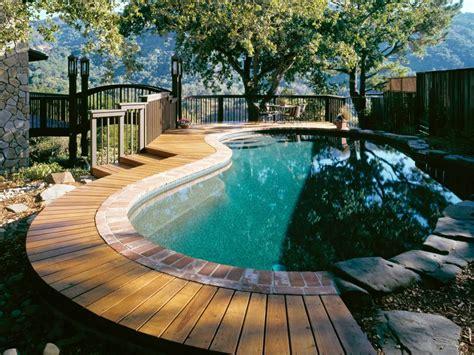 Backyard Pool Design Ideas by 10 Pool Deck And Patio Designs Hgtv