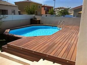 Terrasse Piscine Hors Sol : 78 best ideas about terrasse composite on pinterest ~ Dailycaller-alerts.com Idées de Décoration