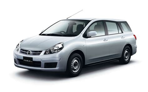 2011 Mazda Familia Van packs few improvements