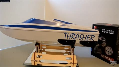 Rc Thrasher Jet Boats For Sale by Thrasher Xt Rc Jet Boat Unboxed Streamline Rc Tybo S Rc