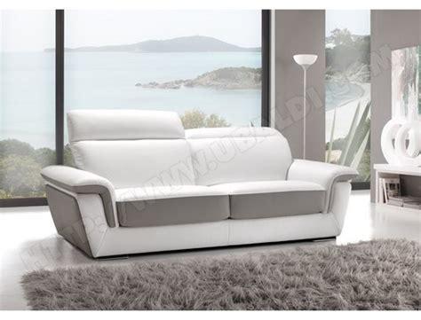 canape cuir blanc et gris canapé cuir blanc gris idées d 39 images à la maison
