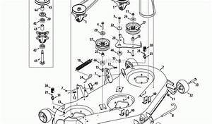 Troy Bilt Super Bronco 50 Deck Belt Diagram Troy Bilt