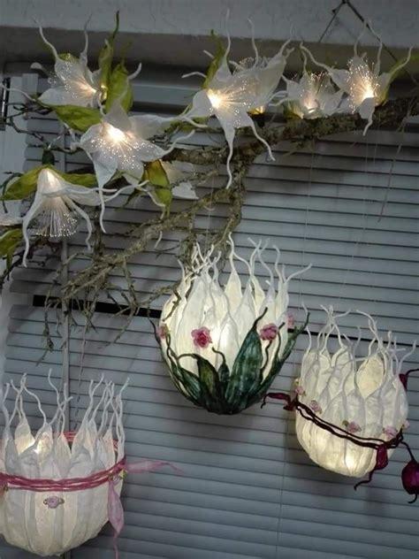 aus finnischen papiergarn papiergarn diy vase papierlicht
