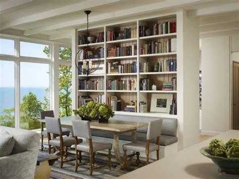 Dining Room & Library Bookshelves