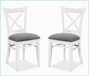 Chaise Blanche Et Grise : table bois et chaise blanche ameublement salle manger 62 ~ Teatrodelosmanantiales.com Idées de Décoration