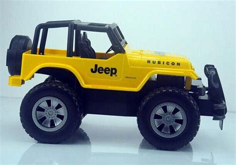 kids red jeep kids red yellow 1 12 full functions r c jeep rubicon toy