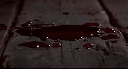 Blood Behind Beauty Bookshelf Drop Dripping Floor