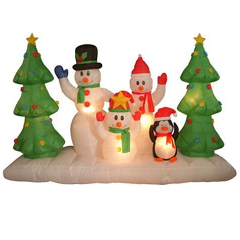 airblown inflatable christmas decorations photograph home