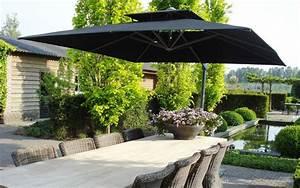 Solde Parasol Déporté : parasol d port solero laterna 300x300 cm ou 350 cm ~ Preciouscoupons.com Idées de Décoration
