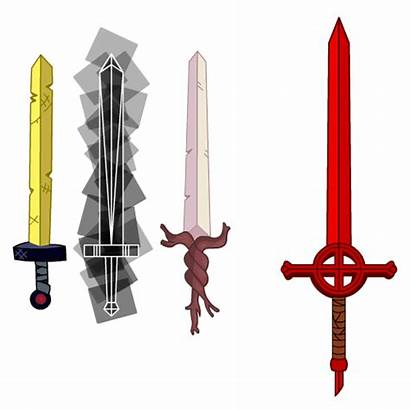 Finn Swords Sword Human Adventure Jake Wikia