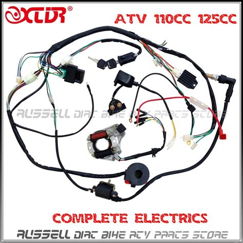 Honda 110 Atv Wiring Harnes For by Aliexpress Buy Atv Wiring Harness 50cc 70cc