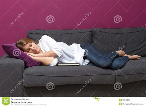 got a of couches sleep on the loveseat sleeping on sofa stock photo image of indoors