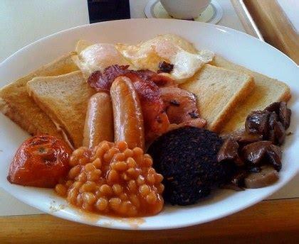cuisine bon marché breakfast petit déjeuner anglais recette de
