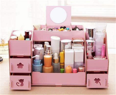 Rak Meja Kosmetik jual rak kosmetik desktop storage cermin jumbo size 31 x