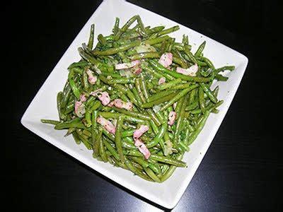 haricots verts poeles la recette facile par toques  cuisine